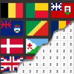 Flags Coloring By Number – Pixel 8.0 APK