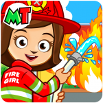 My Town : Fireman & Fire Station Story Game 1.08 APK