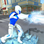 Snow Storm Super Human: Flying Ice Superhero War 1.0.5  APK