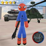 Stickman Spider Rope Hero Gangstar Crime 1.0 APK