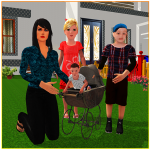 Virtual Single Mom Simulator: Family Mother Life 1.17 APK