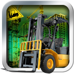 Airport Forklift Driving Heavy Machinery Sim 3D 1.4 APK