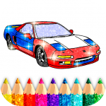 Car Coloring Game offline🚗 1.6 APK
