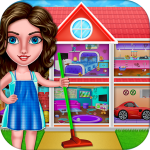 House Cleanup : Girl Home Cleaning Games 3.9.1 APK