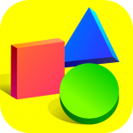 Learn shapes and colors for toddlers kids 1.3.1 APK