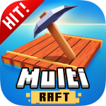 Multi Raft 3D: Survival Game on Island 2.4 APK