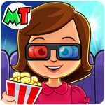 My Town : Cinema. Fun Movistar Kids Movie Night 🍿 1.08 APK