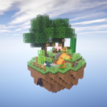 One block survival Minecraft maps. Map for MCPE 5 APK