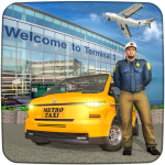 Real Taxi Airport City Driving-New car games 2020 1.8 APK