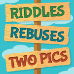 Riddles, Rebus Puzzles and Two Pics v3.1  APK
