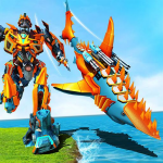 Shark Robot Transforming Games – Robot Wars 2019 2.1 APK