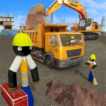 Stickman City Construction Excavator 2.6 APK