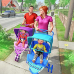 Virtual Mother New Baby Twins Family Simulator 2.1.8 APK