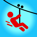 Zipline Valley – Physics Puzzle Game 1.9.3 APK