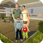 blessed virtual mom: mother simulator family life 3 APK