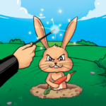 Whack a Bunny – Tap Tap Hole Puzzle 🐰  APK