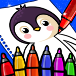 Happy Coloring Book Learn Paint : Coloring Games  APK