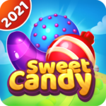 Sweet candy puzzle – Triple match games  APK