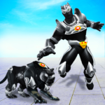 Flying Panther Robot Hero Game:City Rescue Mission  APK 3.1