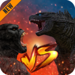 Godzilla & Kong 2021: Angry Monster Fighting Games  APK 6