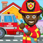 Pretend my Fire Station: Town Firefighter Life 1.4 APK