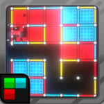 Dots and Boxes (Neon) 80s Style Cyber Game Squares  APK 2.1.25