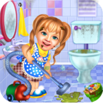 Sweet Baby Girl Cleaning Games 2021: House Cleanup  APK 1.0.5