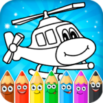 Coloring pages for children : transport  1.2.3 APK