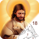 Bible Color – Paint by Number, Free Bible Games  1.0.8 APK
