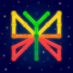 GeoBoard relaxing puzzle game drawing lines shapes  v1.5.9  APK
