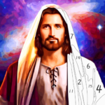 Jesus Coloring Book, Color by Number Paint Games  APK 2.5