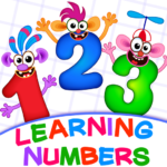 Learning numbers for kids! Writing Counting Games!  2.0.6.1 APK