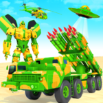 US Army Robot Missile Attack: Truck Robot Games  35 APK