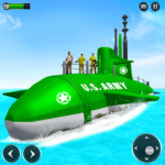 US Army Submarine Driving Military Transport Game 3.6 APK
