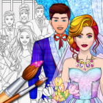 Wedding Coloring Dress Up – Games for Girls  APK 1.4