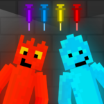 Fire and Water Playground: Red and Blue Ragdoll  1.0.0  APK