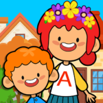 My Pretend Home & Family – Kids Play Town Games!  3.7  APK