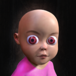 Baby in Pink Horror Game: Scary Babysitting games  0.5 APK