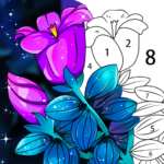 Coloring Book: Color by Number Oil Painting Games  1.551 APK