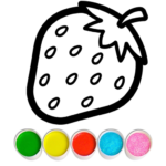 Fruits and Vegetables Coloring Game for Kids 1.1   APK