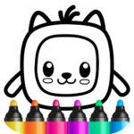 Pets Drawing for Kids and Toddlers games Preschool 1.2.2.7  APK